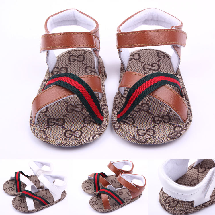 Fasion Newborn Soft Sole Boy Toddler Baby Sandals Shoes
