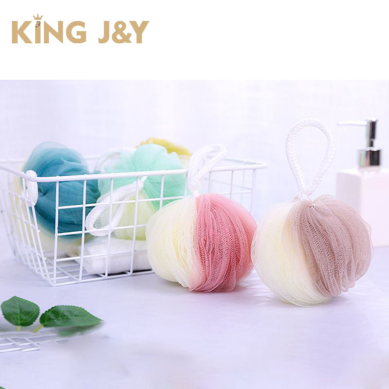 two colors bath sponge,custom color bath flower loofah sponges loofah