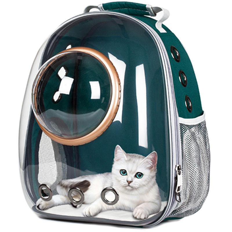 High Quality Transparent Bubble Recycled Outdoor Travel Space Capsule Astronaut Breathable Dog Cat Pet Carrier Backpack
