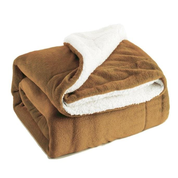 Thick Sherpa Throw Blanket