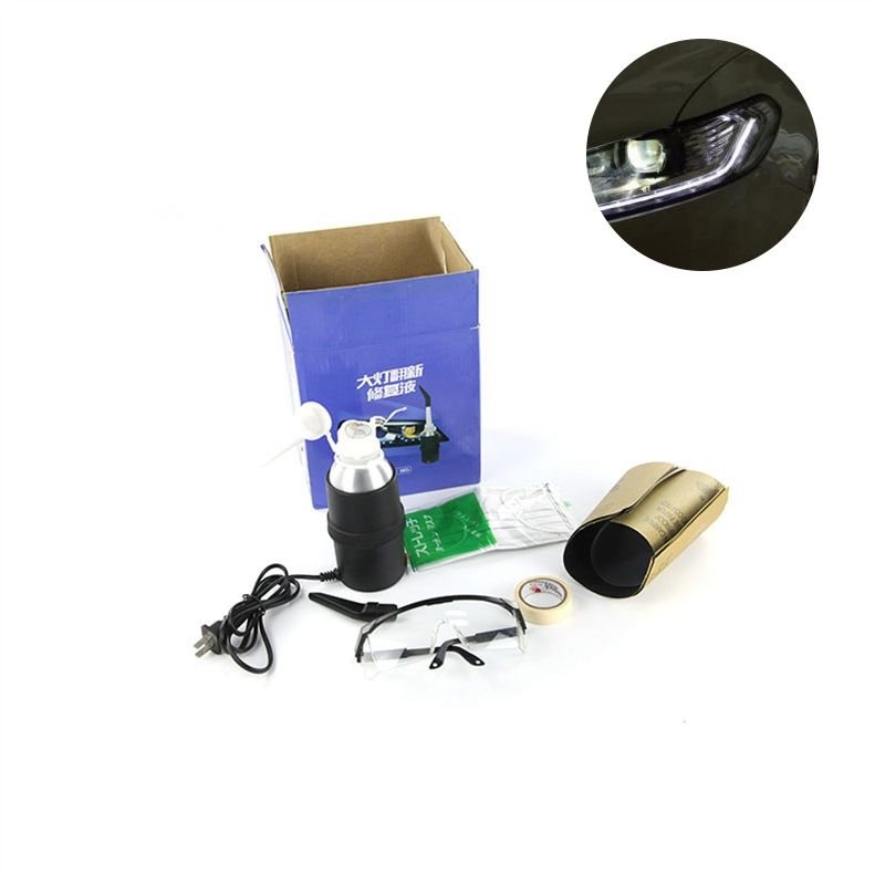 Allplace DIY Car Headlights Care Kits Car Light Repair Restoration Tools Anti-Scratch Restoration Set