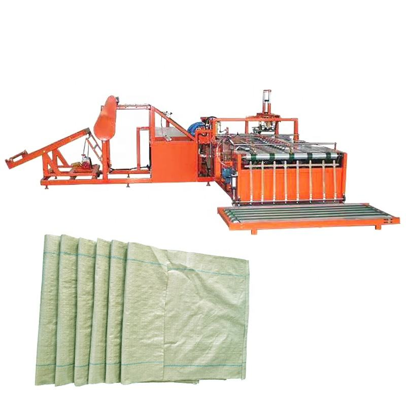 Used non woven bag making machine gunny bag sewing sealing machine