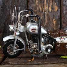 handmade Vintage iron art nostalgia motorcycle decoration and collection gifts