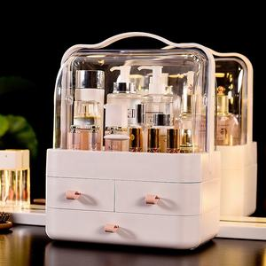 Storage Makeup Brush Lipstick Mask Plastic Storage Beauty Cosmetic Box For Cosmetic Organizer