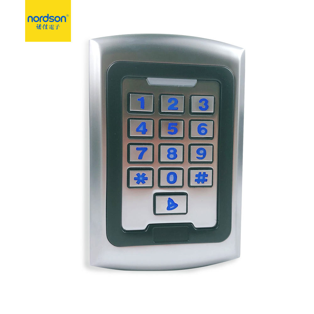 Zinc Alloy metal case outdoor digital keypad code card reader access controller units