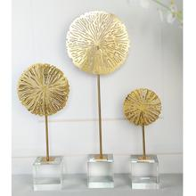 Wholesale Elegant Creative Resin Art Craft Design Moulding Modern Interior Accessories