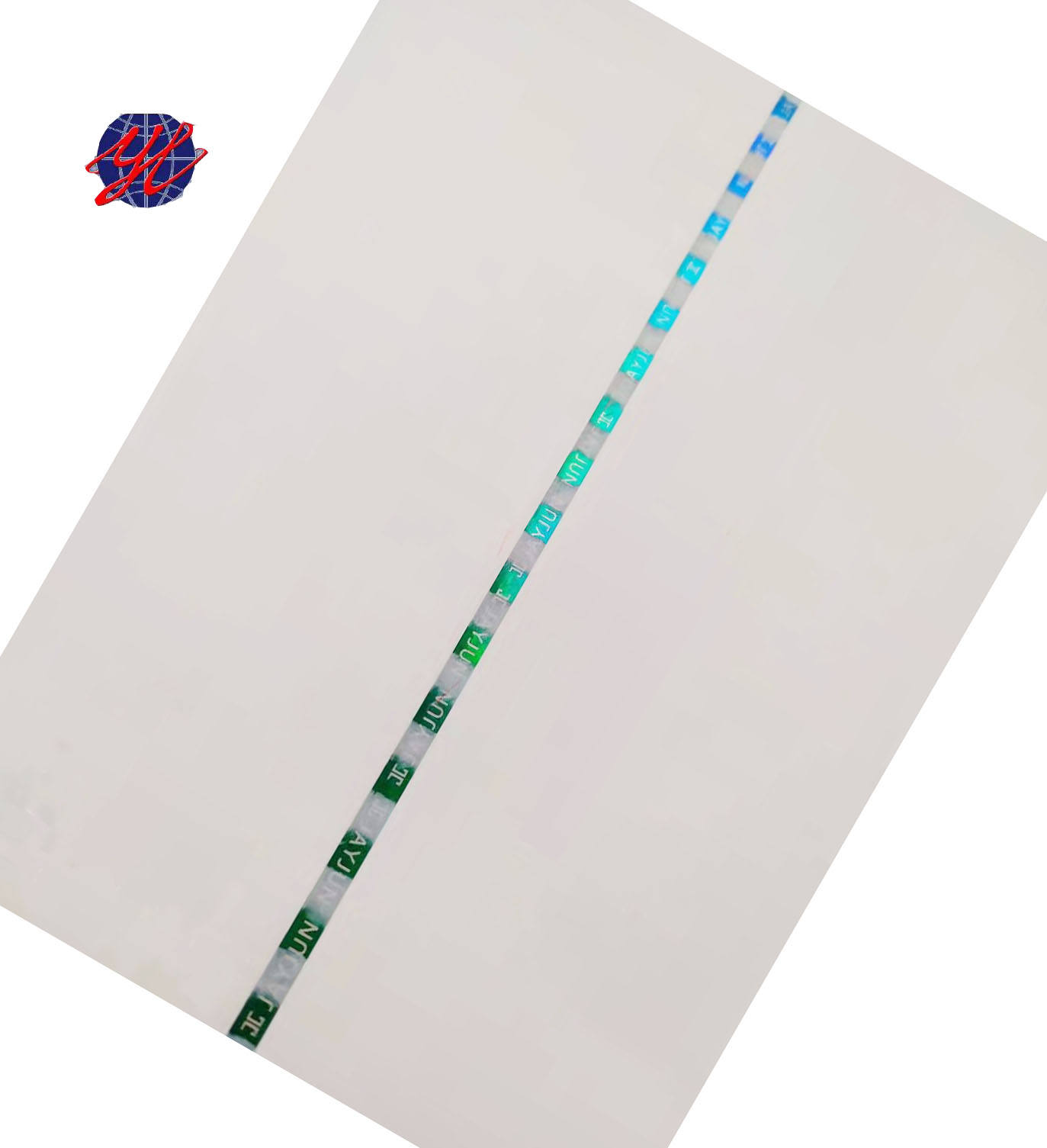 Security paper with watermark for certificate and cheque printing