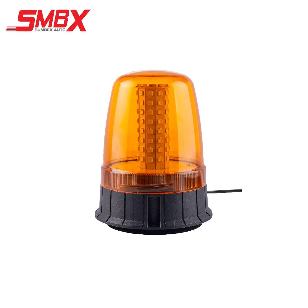 Amber LED Strobe Light Beacon Vehicle Car Roof Top Hazard Warning Flash Emergency Lights car Rotating Flashing Safety
