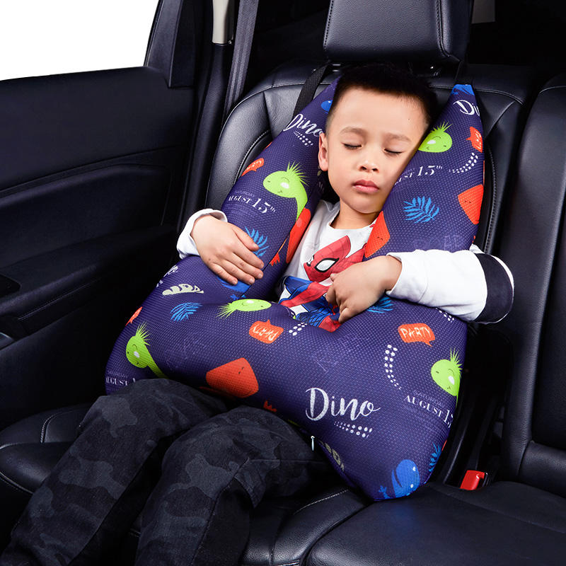 2020 Newest baby sleep cushion pillow headrest support for car sleeping head pillow sleeping headrest seat belt pillow for kids