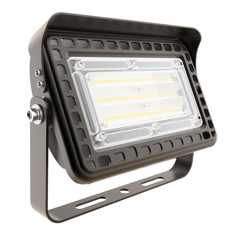 LED Brown Security Light with Motion Sensor, 30W (150 Watt), Outdoor Flood Light Dusk to Dawn, 5000K