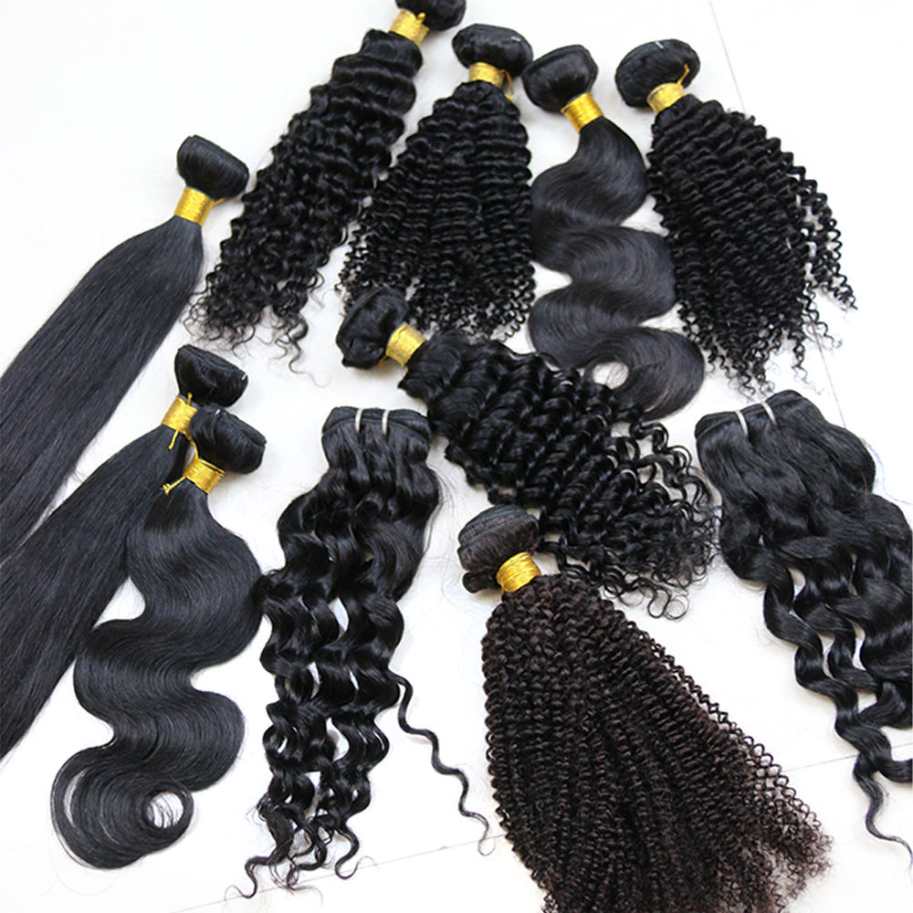 Top Selling Low Price One Dollar Pay Later Pearl Steam Thick Pixie Cut Private Label Straight Wavy Human Hair Bundles