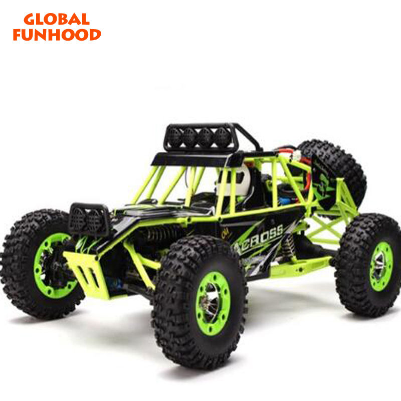 Aktualisiert Version RC Auto WLtoys 12428 4WD 1/12 2,4g 50 km/std High Speed Monster Truck Radio Control RC Buggy off-Road RTR
