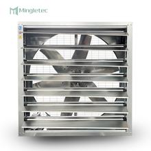 Wallmaster Wing Blade Wall Mounted Automatic Shutter Industrial Factory Greenhouse Ventilation Exhaust Fan