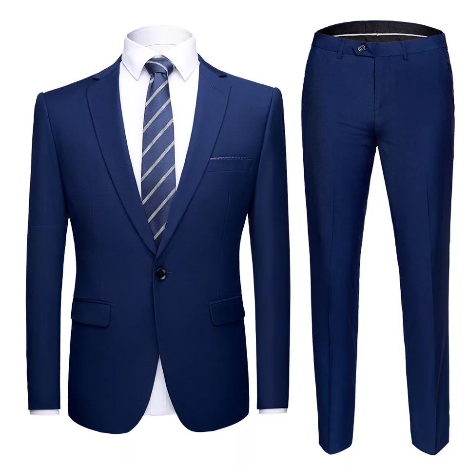 Fashion Blazer Men Suits 2 Pieces Wedding Men's Suit Men Suits