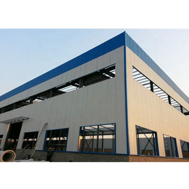Portable Steel structure building warehouse prefabricated hangar