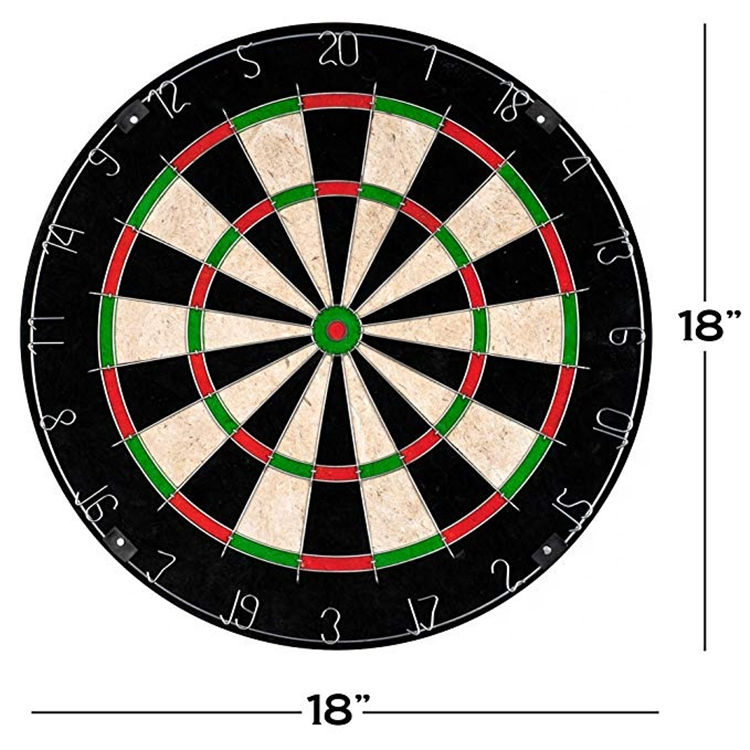 Professional training hemp dart target plate and High quality sisal Darts Boards