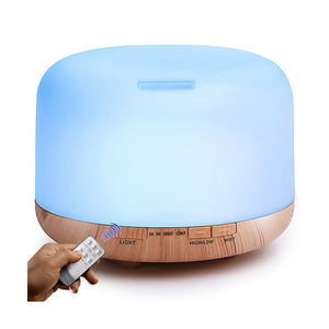 Factory supply hot products 2020 electric ultrasonic aroma diffuser humidifier essential oil diffuser 550ml 500ml