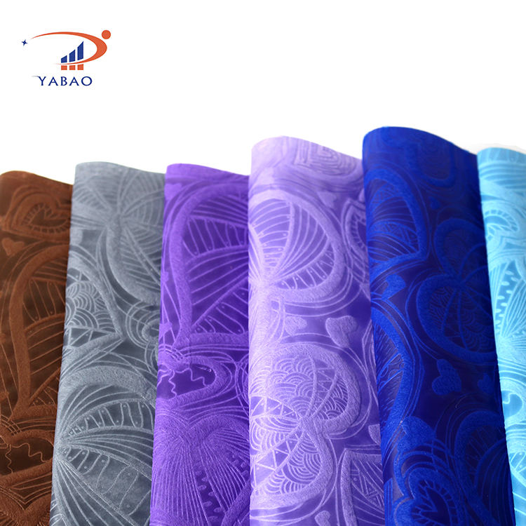 Wholesale PP Raw Material Embossed Spun bond Non-woven Packaging Fabric For Flower