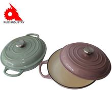 Factory direct selling Colorful cookware cast iron enamel cooking pot