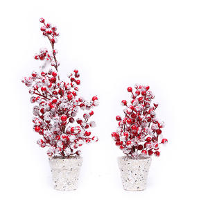 Shinning potted holiday decoration the layout Christmas wholesale tree centerpiece