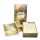 High Quality Custom Printing Paper Gold Gilt Edge Tarot Cards Oracle Decks Set