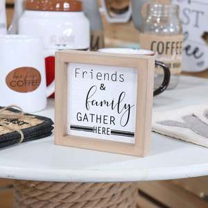 Custom Blank Decor Friendship Saying Wooden Signs Wood Ornaments for Furniture