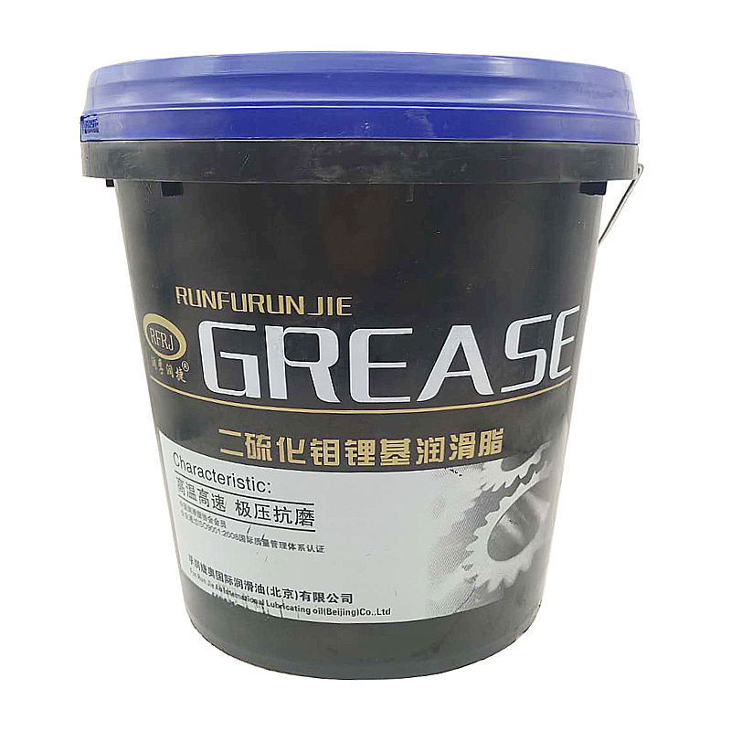 High Temperature Polyurea Grease Black Molybdenum Disulfide Grease Industrial Graphite Lubricant Grease