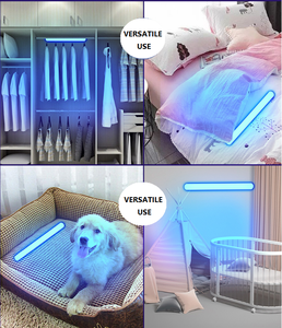 Popular household germicidal ultraviolet sterilizer handheld uvc disinfect stick portable led uv disinfection light