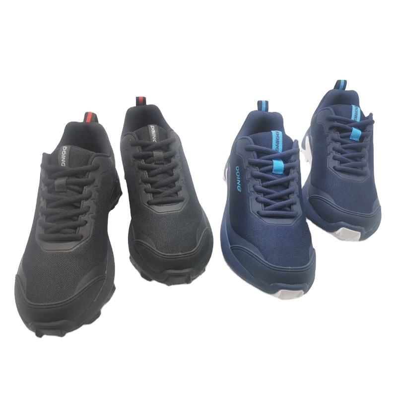 2020 Wholesale Fashionable Black Suede Outdoor/hiking Sport Shoes for men