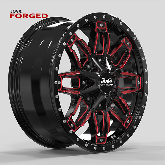 Aluminum Beadlock 20x12 Big D524 5x120 4x4 Rims Wheel Offroad Rims 6 Hole Alloy Wheels 20 Inch Suv Offroad Wheel