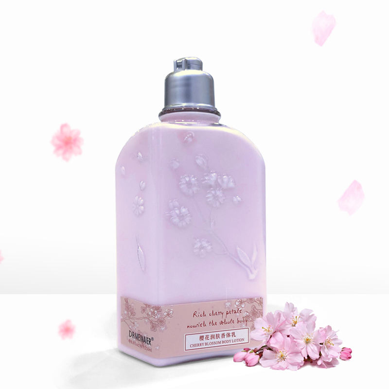 Cherry Blossom whitening body lotion skin private label