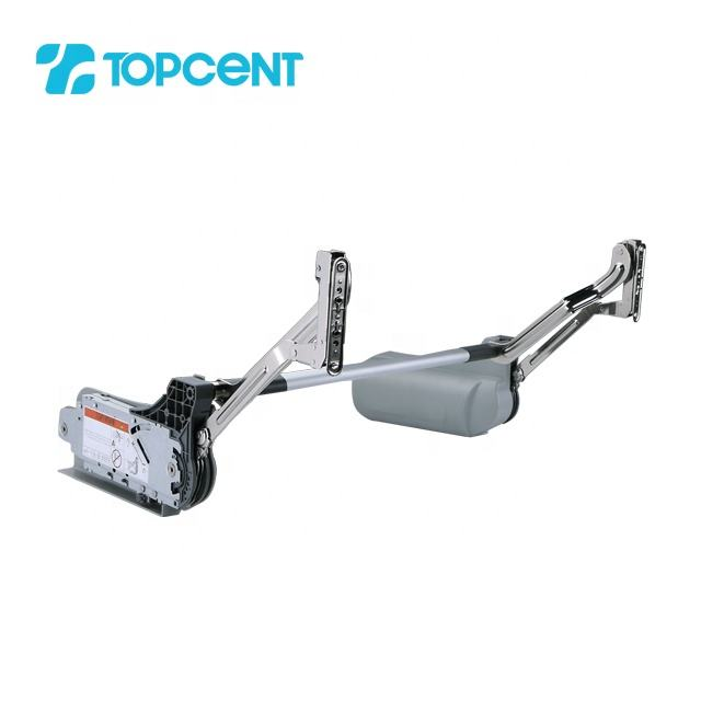 Topcent Flap door fittings electric type hydraulic kitchen cabinet lift system support flap stay