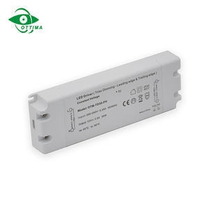 Triac Led driver 12V 24V 50W dimmable power supply ETL class 2 dimmable led driver for Led lighting dimming