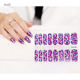 Effortless Nail Beauty 100% Nail Polish Nail Vinyl Sticker