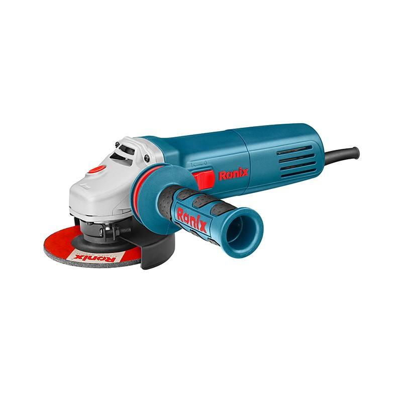 Ronix Professional Angle Grinder Electric, 880W Angle Grinder Spare Parts Model 3110