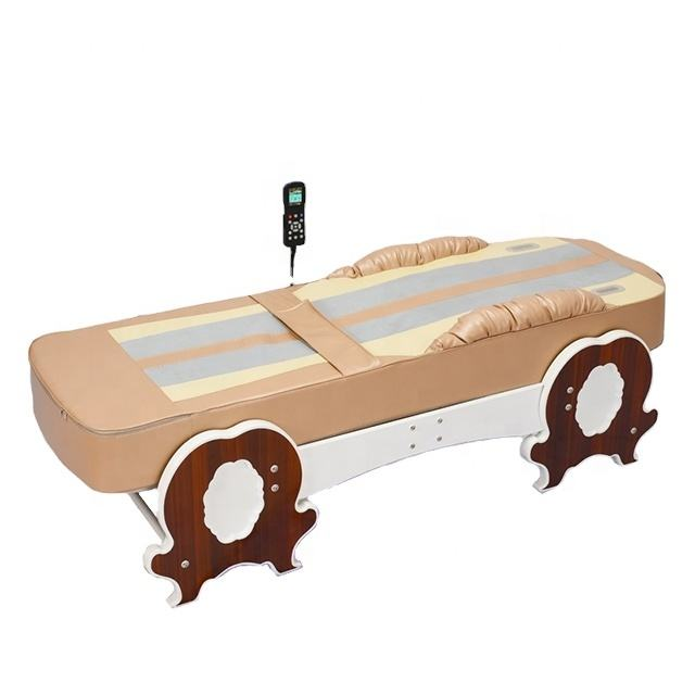 portable automatic inflatable thai thermal jade massage bed