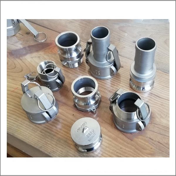 stainless steel camlock and groove coupling type A,B,C,D,E,F,DC,DP
