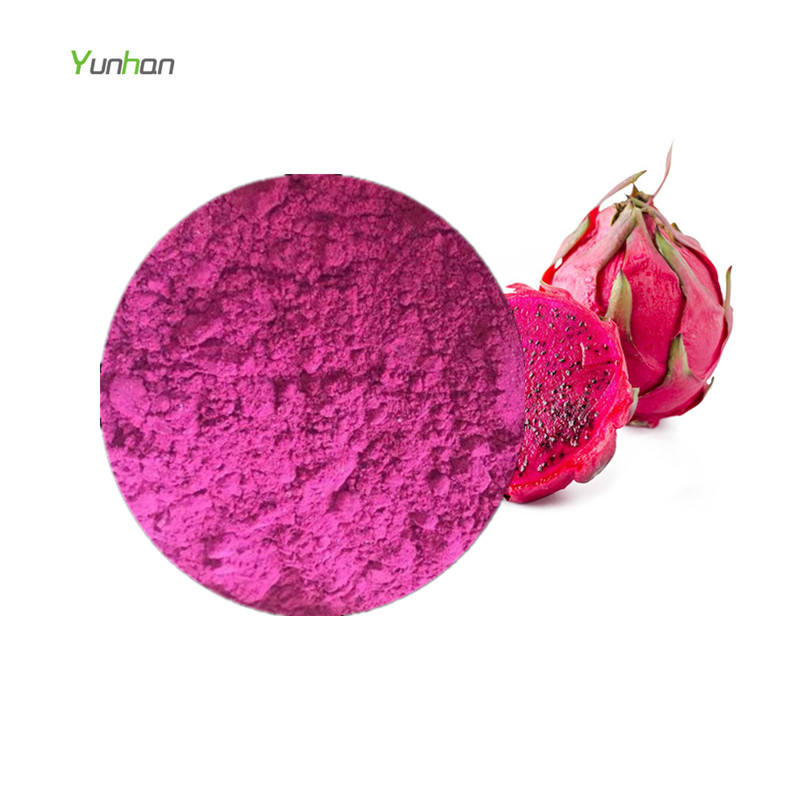 Wholesale OEM Food Grade Freeze Dried Organic Fruit Red Pink Pitaya Powder