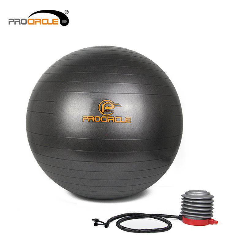 Professional Small Dot Green Anti Exercise Stability Yoga Ball