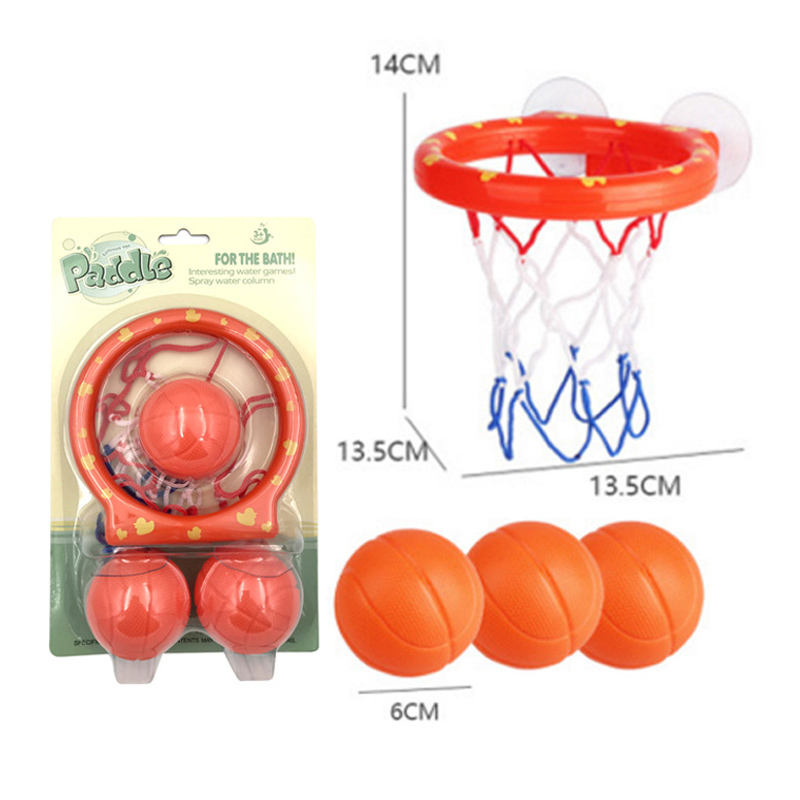 The quality of the basketball toy set kids bath toy basketball with bathroom baby