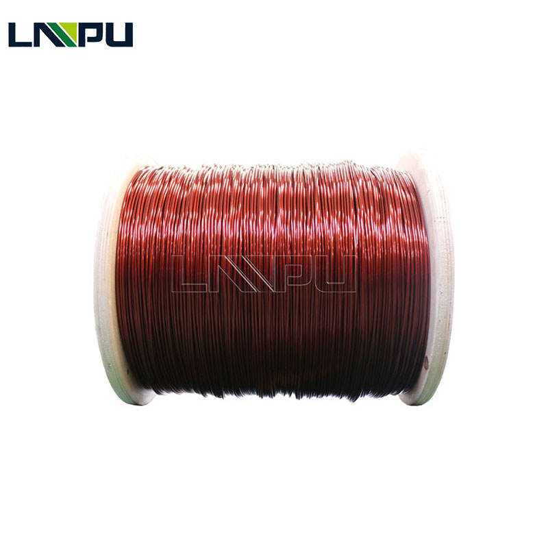 Awg 38#-T 0.10 mm Enameled Copper Wire For Wire Enamelling Machine For Vanish Coating Machine