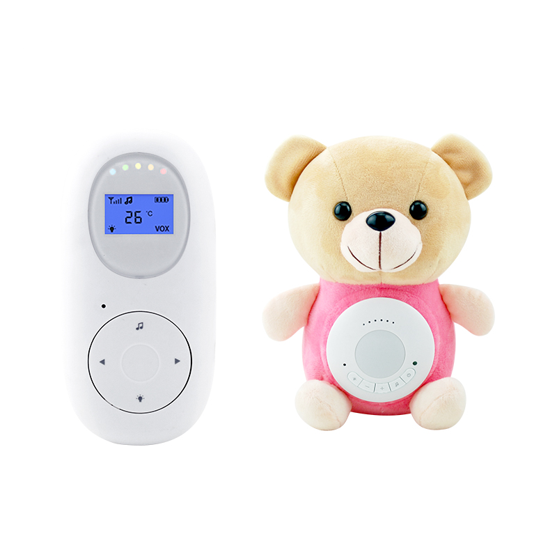 plush toy music lullabies temperature sensor digital wireless two way babyphone baby audio monitor