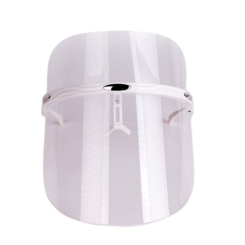 transparent mask LED Photon Whitening Acne Anti-wrinkle Facial Beauty Spectrograph Skin Care Beauty Face Light Therapy