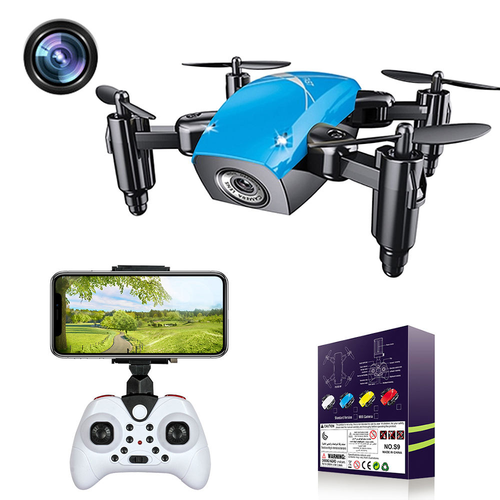 Remote control drone with camara new wifi toys quadcopter portable without rc pocket motor for kids toy hd camera mini drone