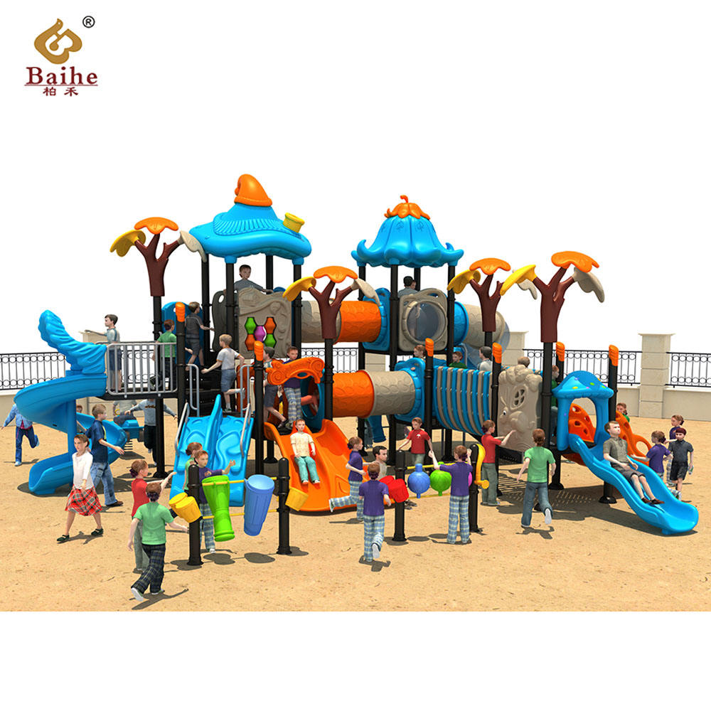New children's playground equipment, amusement park toys children's plastic play house slide