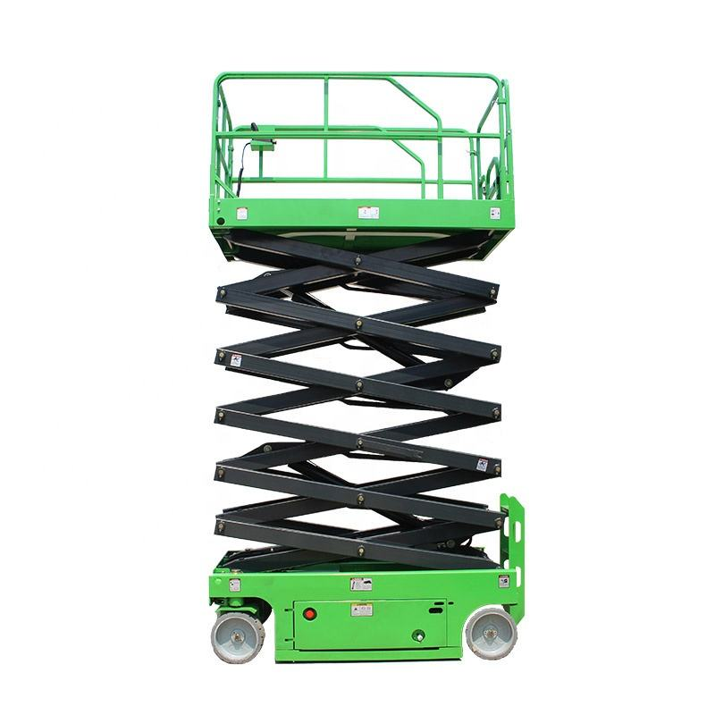 Factory Direct Sales electric hydraulic fixed scissor lift platform high truck double