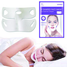 v shape lifting slim face lift v line mask 4d facial mask double chin remover lifting facial mask