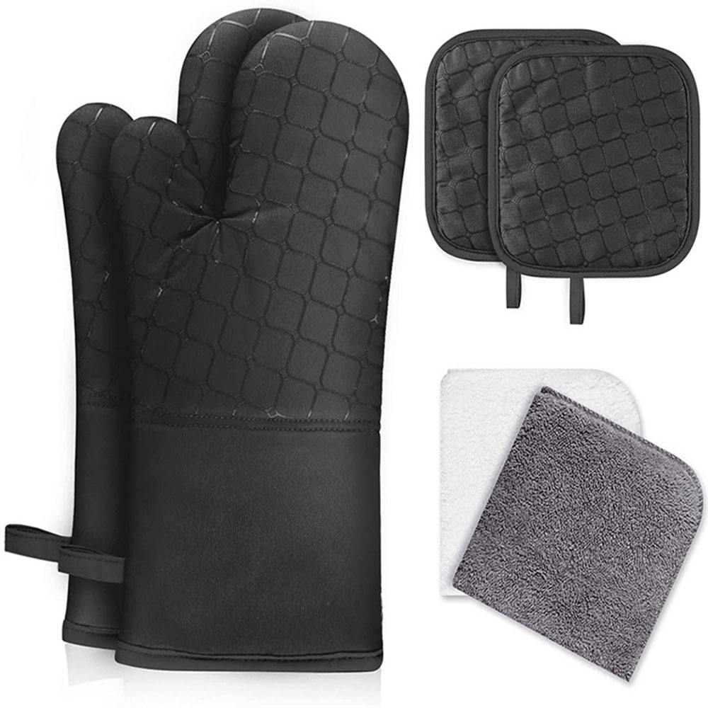 Hot Selling Kitchen Gloves Wholesale Mitts Oven Gloves And Potholder