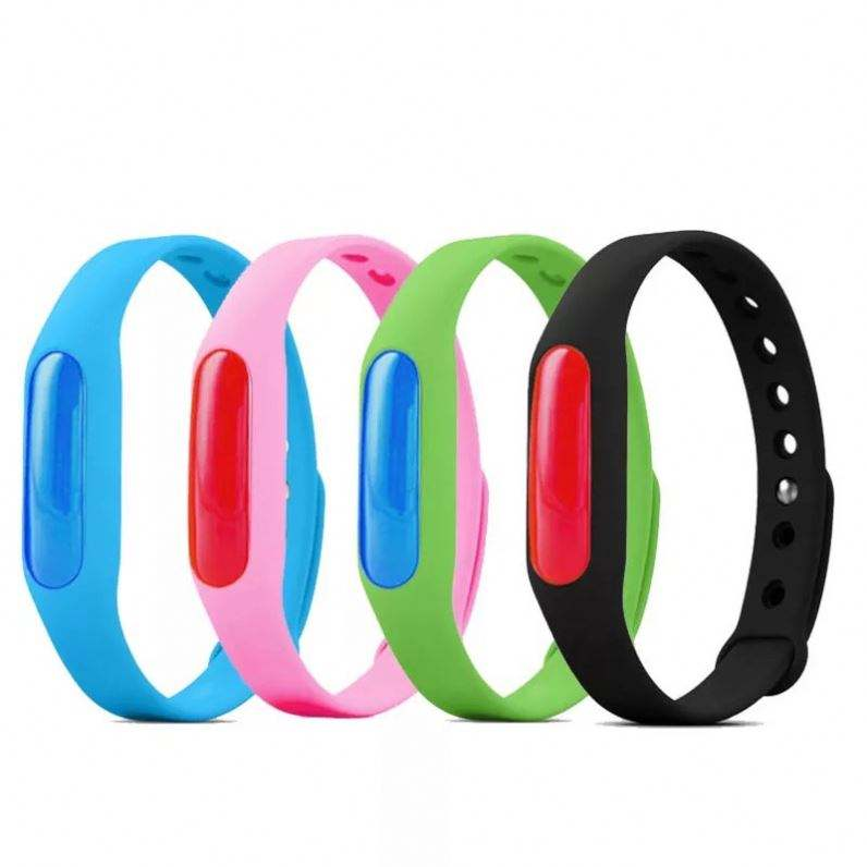 Wholesale Mosquito Repellent Bracelets Multicolor Pest Control Bracelets Insect protect Outdoor Indoor For Kids P0033