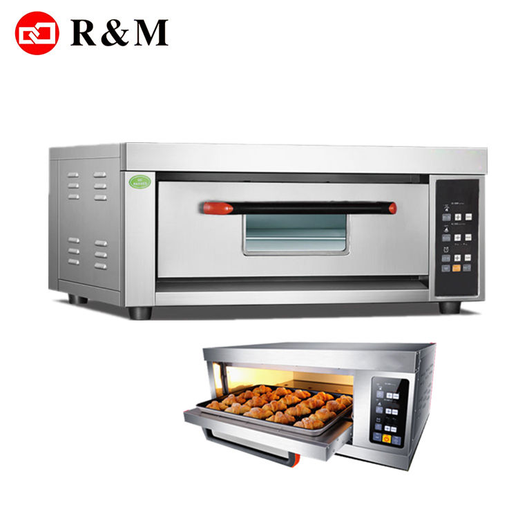 Single deck electric industrial cake oven,commercial cake oven machine electric